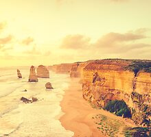 Twelve Apostles by jamespaullondon
