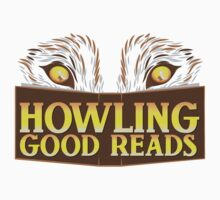 Howling good reads bookstore logo The Others reading series fan art by jazzydevil