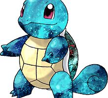 Space Squirtle by thewavve