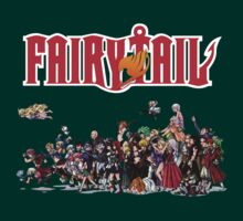 Fairy Tail Characters by MugiwaranoBiju