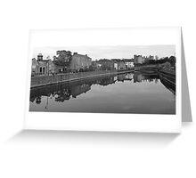 Kilkenny Castle view from Lady Desert Bridge Greeting Card