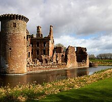Caerlaverock Castle 1 by Alison Scotland