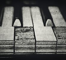 These Worn Tunes in Black and White by Kadwell