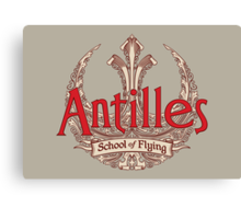 Antilles School of Flying (Light) Canvas Print