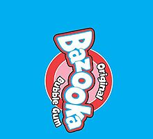 Bazooka Joe Retro Chewing Bubblegum Wrapper Phone Case by Squeezietees