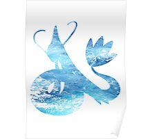 Milotic used Aqua Ring Poster