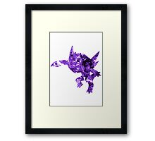 Sableye used Shadow Ball Framed Print