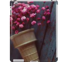 flower cone II iPad Case/Skin