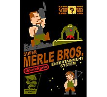 Super Merle Brothers Photographic Print