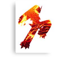 Blaziken used Blaze Kick Canvas Print