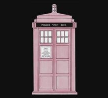 Pink TARDIS. by Mister Dalek and Co .