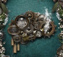 Steampunk On The Brain by LonettaAvelar