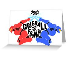 Grifball Tournament - World cup Greeting Card