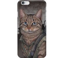 Daryl Dixon Cat iPhone Case/Skin