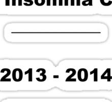 National Insomnia Champion Sticker