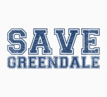 Save Greendale (Distressed) by vestigator