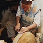 knife sharpener, Morocco by indiafrank