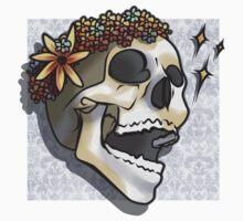 Billy in Flowers Sticker by halflock