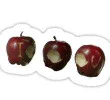 IOU Apples- Sherlock Sticker