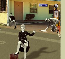 The Motel (Detail) by PrivateVices