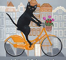 Amsterdam Bicycle Ride by Ryan Conners