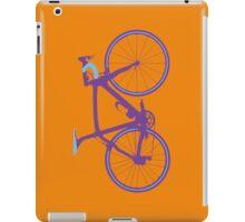 Bike Pop Art (Purple & Blue) iPad Case/Skin