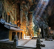 Hospital Cave at the Marble Mountain, Da Nang Vietnam by Martin Lawrence