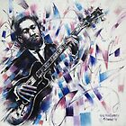 Portrait of Wes Montgomery by Franko Camue