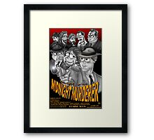 The Case of the Midnight Murderer Framed Print
