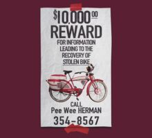Pee Wee's Missing Bike by stella4star