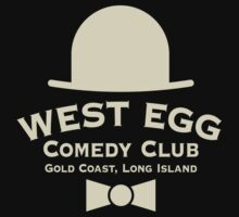 West Egg Comedy Club by LicensedThreads
