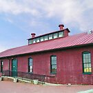 The Old Train Depot in Danville, Va.    by BCallahan