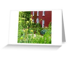 The Front Garden Of Glebe House Greeting Card