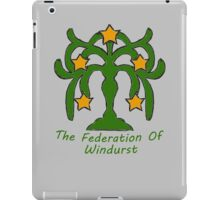 The Federation of Windurst iPad Case/Skin