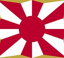 Flag of Japan Ground Self-Defense Force  by abbeyz71