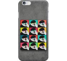 Chinstrap Penguins Pop Art iPhone Case/Skin