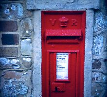village post box by HelenAmyes