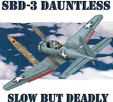 SBD Dauntless by Mil Merchant