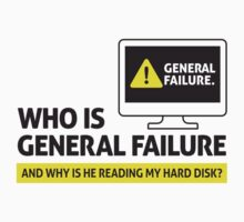 General Failure by artpolitic