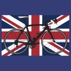 Bike Flag United Kingdom (Big - Highlight) by sher00