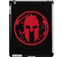 SPARTAN-SHIRT-BIG-RED iPad Case/Skin