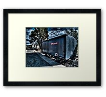 Train Carriage Framed Print
