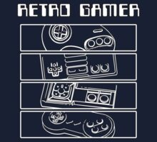 Retro Gamer - Controllers T-Shirt
