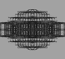 A Study of the West Pier, Brighton (rectangular) by manelortega