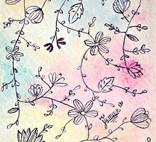 PELUSA - Flores pastel by jimenablack