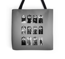 The Twelve Doctors Tote Bag