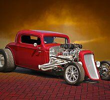 1934 Chevrolet Coupe by DaveKoontz