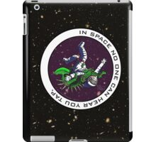 Jiu-Jitsu - Alien Vs Astronaut iPad Case/Skin