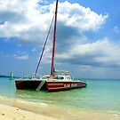 Sailing in Negril by tigerwings