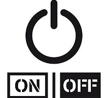 On Off Power Schalter Design by Style-O-Mat